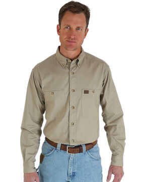 Wrangler Riggs Twill Work Shirt, , hi-res