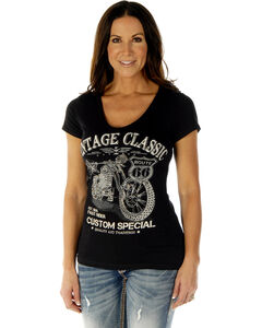 Liberty Wear Women's Vintage Classic Short Sleeve Tee, , hi-res