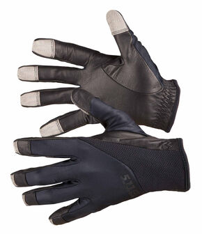 5.11 Tactical Screen Ops Patrol Gloves, Black, hi-res
