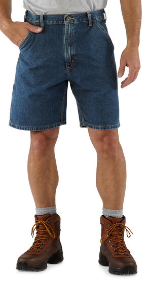 Carhartt Lightweight Denim Work Shorts, Denim, hi-res