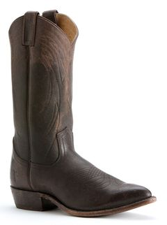 Frye Men's Billy Pull-on Cowboy Boots - Pointed Toe, Dark Brown, hi-res
