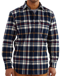 Carhartt Men's Hubbard Classic Plaid Shirt, , hi-res