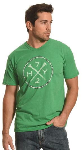 Hooey Men's Green HY72 T-Shirt , Green, hi-res