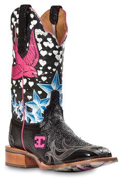 Cinch Edge Stella Cowgirl Boots - Square Toe, , hi-res