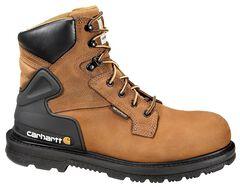 "Carhartt 6"" Waterproof Lace-Up Work Boots - Steel Toe, , hi-res"