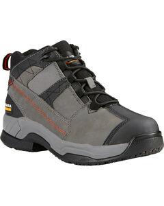 Ariat Men's Grey Contender Work Boots - Soft Toe, , hi-res
