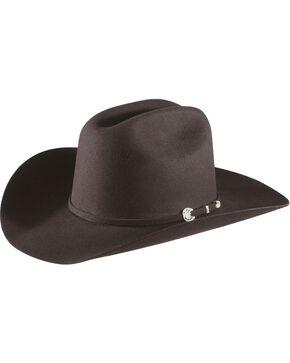 Stetson 4X Corral Buffalo Felt Hat, Black, hi-res