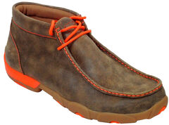 Twisted X Men's Leather Ankle Driving Shoes, , hi-res