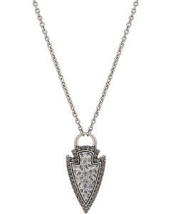 Wrangler Rock 47 Tribal Flair Arrowhead Necklace, , hi-res
