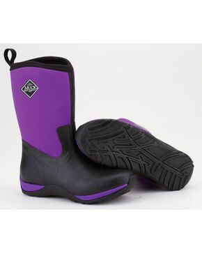 Muck Boots Purple Arctic Weekend Boots, Purple, hi-res