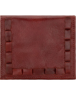 American West Garnet Boyfriend Ladies Soft Bi-Fold Wallet , Garnet, hi-res