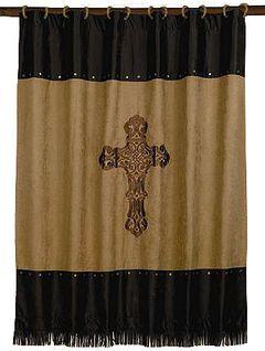 Crosses Shower Curtain, , hi-res