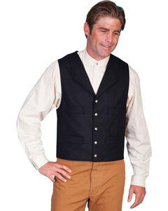 Wahmaker by Scully Wool Blend Four Pocket Vest, , hi-res