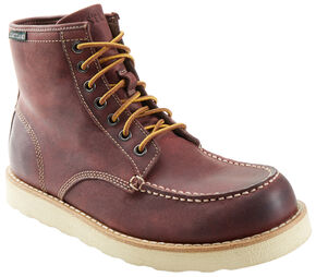 Eastland Men's Oxblood Lumber Up Boots , Red, hi-res