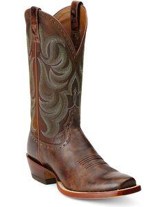 Ariat Turnback Cowboy Boots - Square Toe, , hi-res