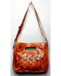 Bed Stu Women's Orchid Cognac Shoulder Bag, , hi-res