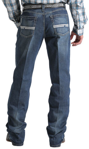 Cinch Men's Indigo Grant Mid-Rise Relaxed Jeans - Boot Cut , Indigo, hi-res