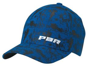 PBR Hold On Flex Fit Cap, Blue, hi-res