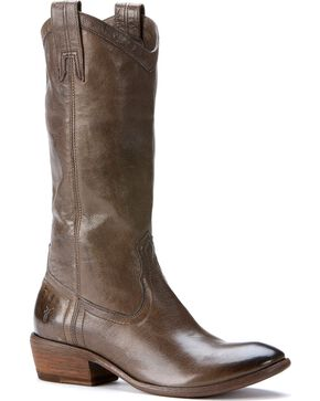 Frye Women's Carson Pull On Boots - Round Toe, Smoke, hi-res