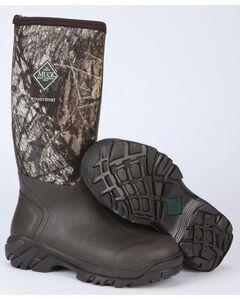 Muck Men's Woody Mossy Oak Sport All-Terrain Hunting Boots, , hi-res
