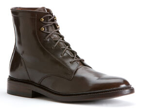 Frye James Lace Up Cordovan Boots, Dark Brown, hi-res