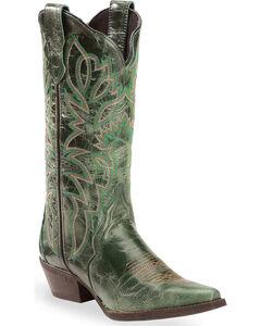 Laredo Turquoise Leeza Cowgirl Boots - Snip Toe, , hi-res