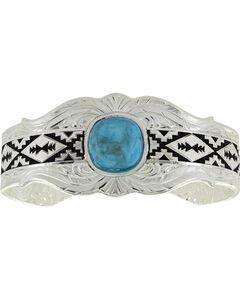 Montana Silversmiths Women's Silver Southern World Cuff Bracelet , , hi-res
