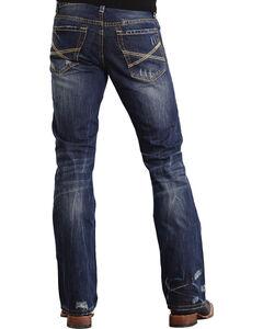 Stetson Rock Fit X Stitched Jeans - Big & Tall, , hi-res