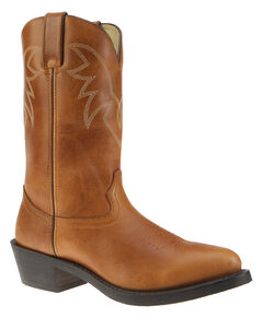 Durango Oiled Peanut Leather Western Boots - Medium Toe, , hi-res