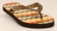 Blazin Roxx Tara Flip Flops , , hi-res