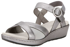 Ariat Women's Silver Out & About Strap Sandals , , hi-res