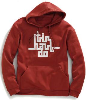 Tin Haul Men's Abstract Logo Pullover Hoodie, Rust, hi-res