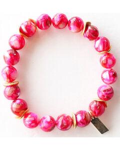 Everlasting Joy Jewelry Women's Flush Rose Gold Chip Bracelet , , hi-res