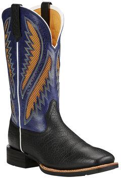 Ariat Men's Quickdraw Venttek™ Boots - Wide Square Toe, , hi-res