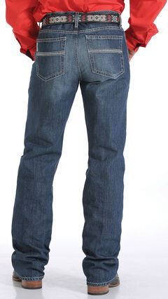 Cinch Men's Indigo Grant Mid-Rise Jeans - Boot Cut, , hi-res