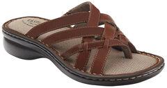 Eastland Women's Cinnamon Lila Thong Sandals , , hi-res