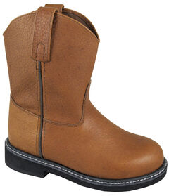 Smoky Mountain Youth Boys' Jackson Leather Wellington Western Boots - Round Toe, , hi-res