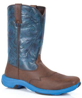 Durango Rebel Lite Western Boots - Square Toe, Brown, hi-res