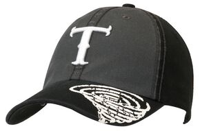 Twister Logo Embroidered Grey & Black Cap, Black, hi-res
