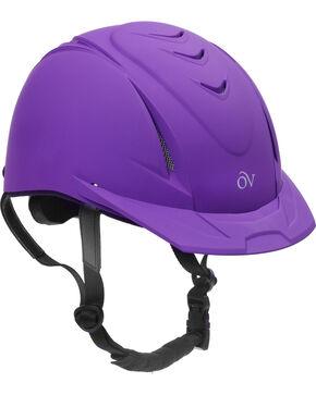 Ovation Kids' Schooler Deluxe Riding Helmet, Purple, hi-res
