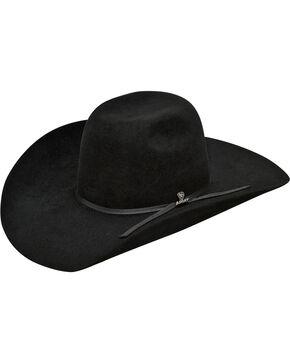 Ariat Men's 100% Fur 6X Cowboy Hat , Black, hi-res