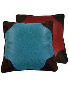 HiEnd Accents Cheyenne Reversible Euro Pillow Sham, , hi-res