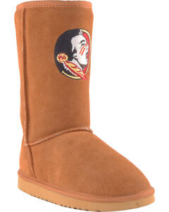 Gameday Boots Women's Florida State University Lambskin Boots, , hi-res