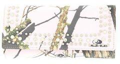 Nocona Pink Mossy Oak Camo Wallet, , hi-res