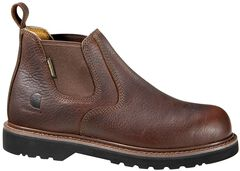 """Carhartt 4"""" Twin Gore Romeo Work Shoes - Safety Toe, , hi-res"""