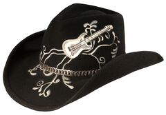Bullhide Rock 'N' Roll Legend Cowgirl Hat, , hi-res