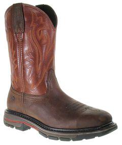 Wolverine Javelina Pull-On Work Boots - Steel Toe, , hi-res