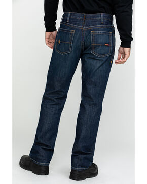 Ariat Shale Fire Resistant Bootcut Work Jeans, Denim, hi-res