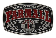 Montana Silversmiths Men's Case IH McCormick Farmall Buckle , , hi-res