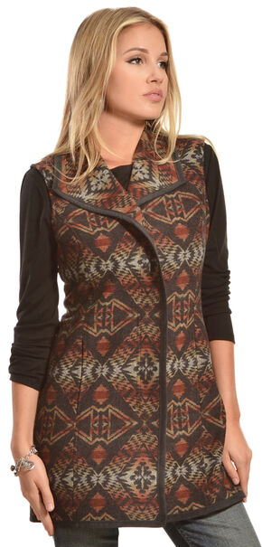 Pendleton Women's Thunder & Earthquake Talia Vest, Multi, hi-res